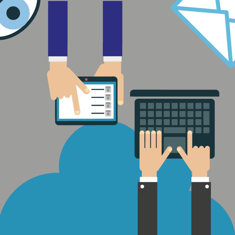Wesa Online samenwerken is eenvoudig via de cloud, op mobiele apparaten en laptop
